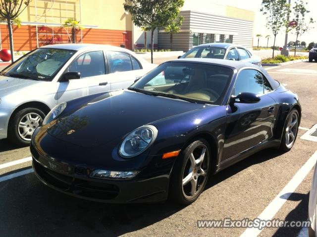 Porsche 911 spotted in Carlsbad, California