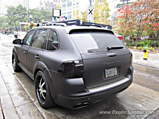 porsche cayenne gemballa 650 spotted in toronto canada on 10 03 2012. Black Bedroom Furniture Sets. Home Design Ideas