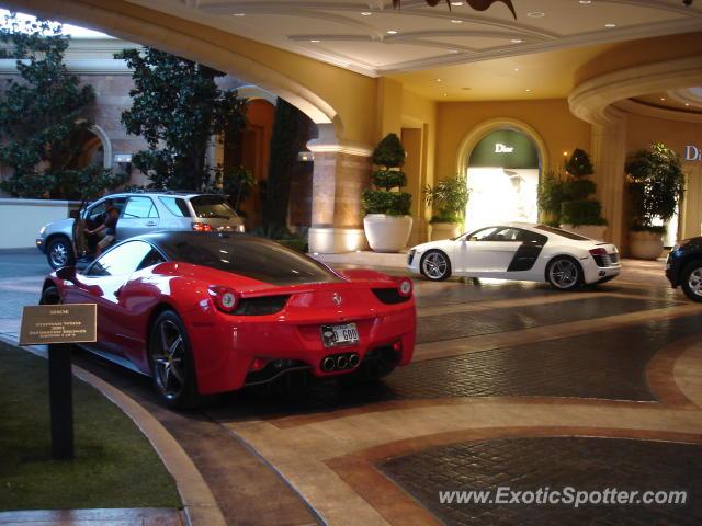 Ferrari 458 Italia Spotted In Las Vegas Nevada On 05 16 2012