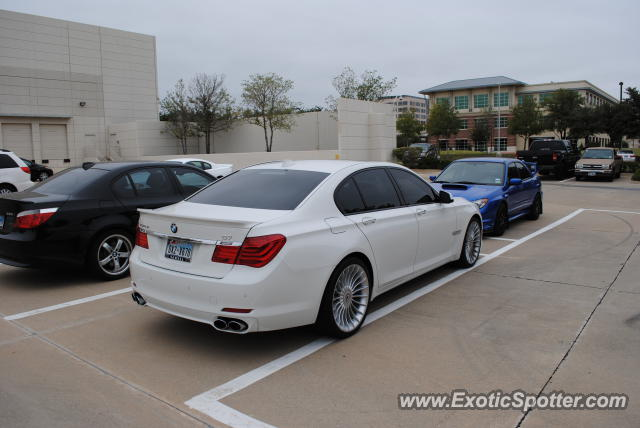 BMW Alpina B7 spotted in Plano, Texas