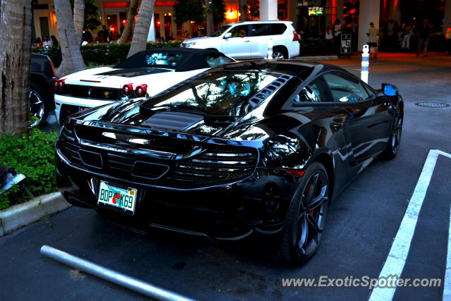 Mclaren MP4-12C spotted in Miami, Florida