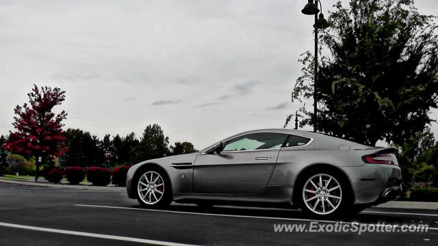Aston Martin Vantage Spotted In Indianapolis Indiana On - Aston martin indianapolis