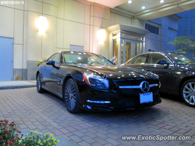Mercedes SL600 spotted in Boston, Massachusetts