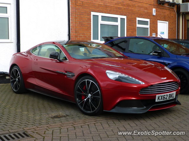 Aston Martin Vanquish spotted in Wilmslow, United Kingdom