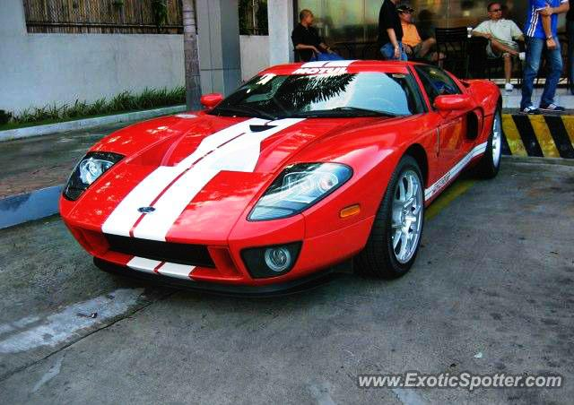 Ford Gt Spotted In Slex Philippines