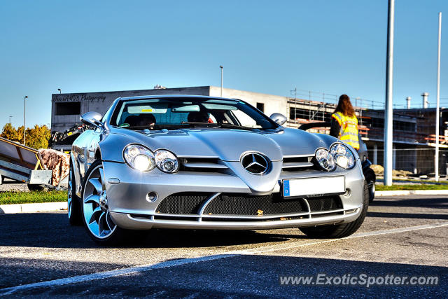 Mercedes SLR spotted in Boeblingen, Germany