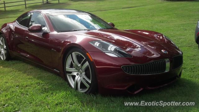 Fisker Karma spotted in Boone, North Carolina