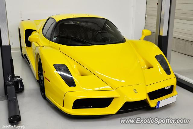 Ferrari Enzo Spotted In Frankfurt Germany On 10 24 2012