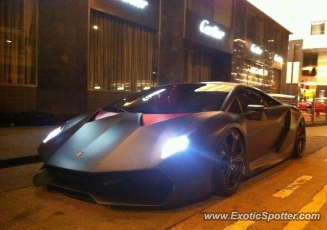 Lamborghini Sesto Elemento spotted in HONGKONG, China