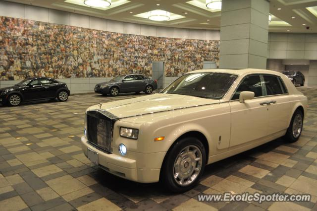 Rolls Royce Phantom Spotted In Toronto Canada On 09 21