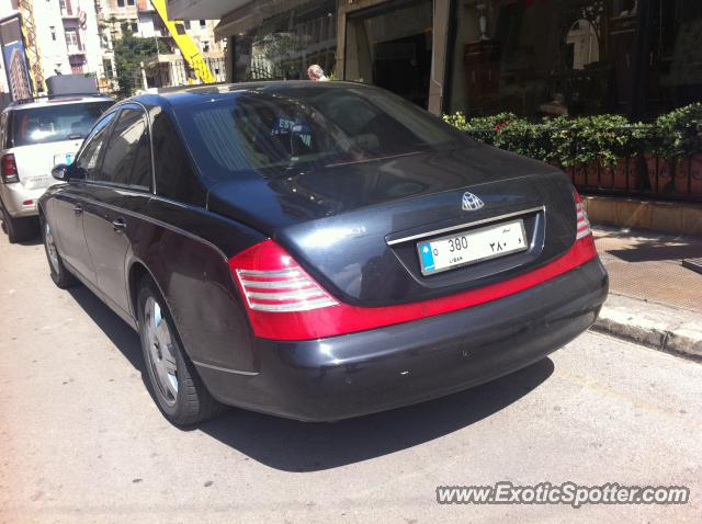 Mercedes maybach spotted in beirut lebanon on 10 07 2012 for Mercedes benz lebanon