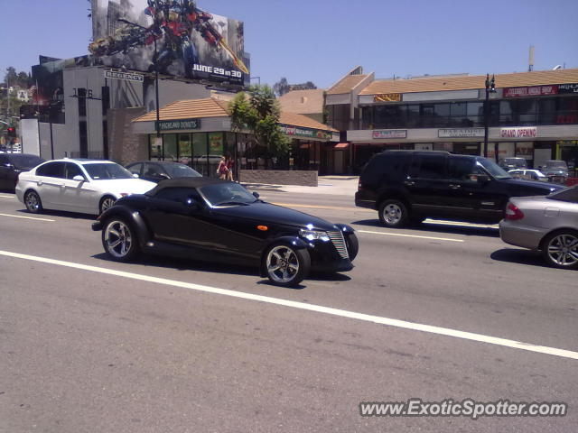 Plymouth Prowler spotted in San Diego, California