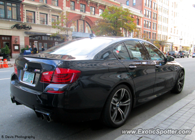 bmw m5 spotted in boston massachusetts on 11 03 2012 photo 2. Black Bedroom Furniture Sets. Home Design Ideas