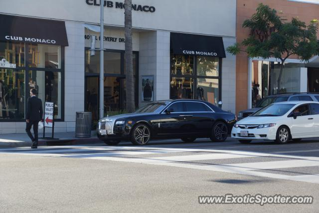 Rolls royce ghost spotted in beverly hills california on for Rolls royce of beverly hills