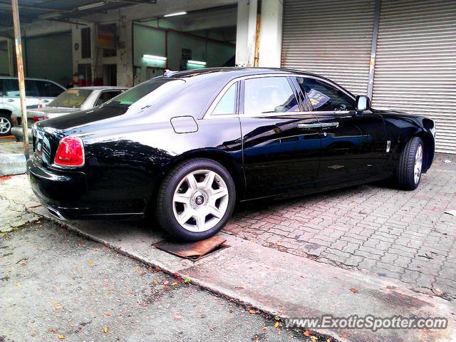 Rolls Royce Ghost spotted in Miri, Sarawak, Malaysia on 11 ...