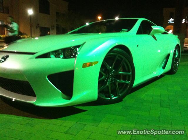 Lexus LFA Spotted In Baton Rouge, Louisiana