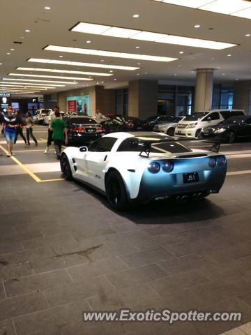 Chevrolet Corvette Zr1 Spotted In Kuala Lumpur Malaysia On 1111