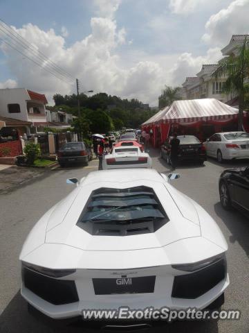 Lamborghini Aventador Spotted In Kuala Lumpur Malaysia On 11 10