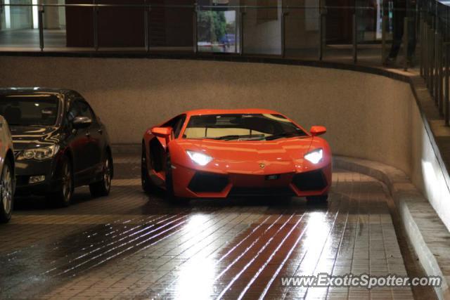 Lamborghini Aventador Spotted In Kuala Lumpur Malaysia On 10 21 2012