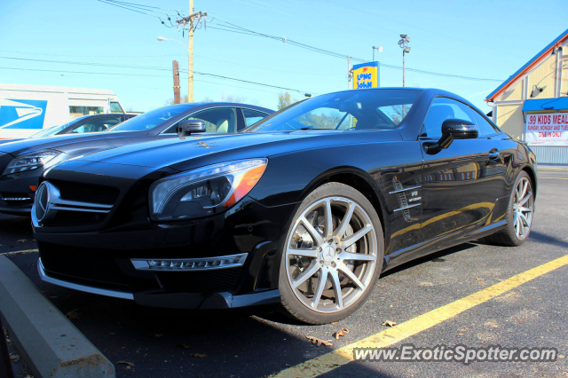 Mercedes sl 65 amg spotted in louisville kentucky on 11 for Mercedes benz louisville ky