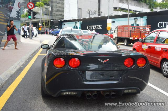 Chevrolet Corvette Z06 Spotted In Kuala Lumpur Malaysia On 10282012