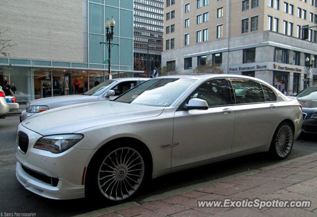BMW Alpina B7 Spotted In Boston Massachusetts
