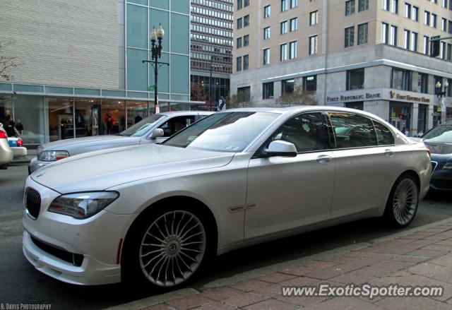 BMW Alpina B7 spotted in Boston, Massachusetts on 11/17 ...