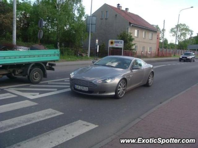Aston Martin DB9 spotted in Gliwice, Poland