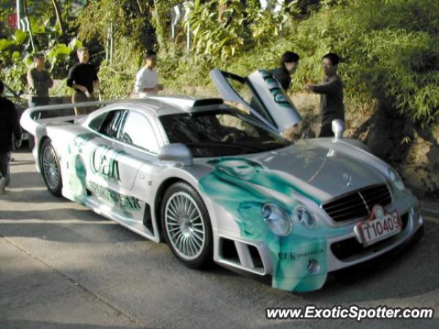 Mercedes CLK-GTR spotted in Hong Kong, China