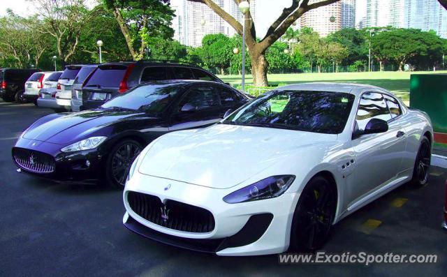 Maserati Granturismo Spotted In Manila Philippines On 11 23 2012