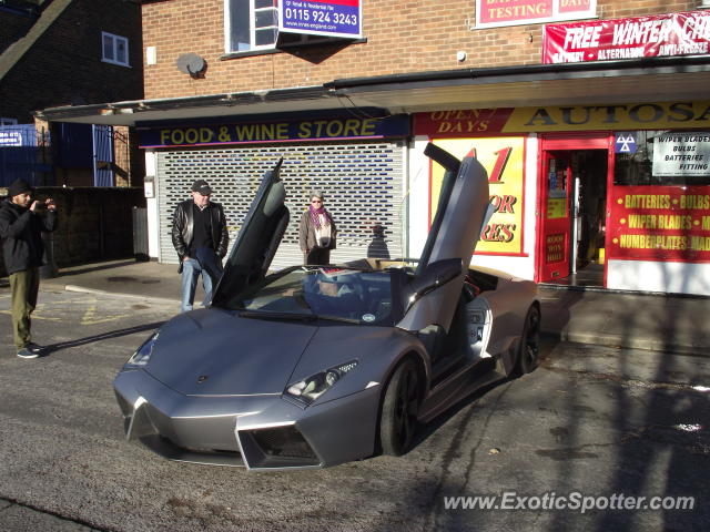 Lamborghini Reventon spotted in Nottingham, United Kingdom