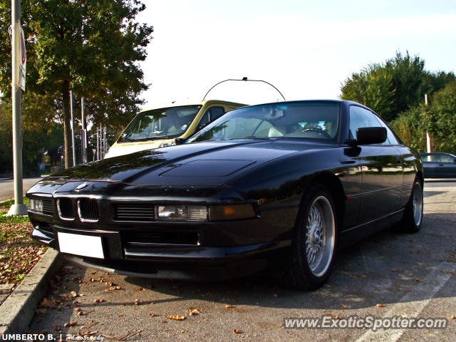 BMW 840-ci spotted in Conegliano, Italy