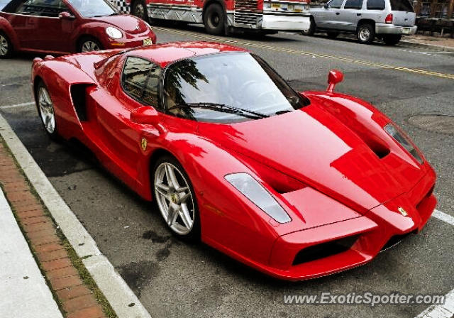 Ferrari Enzo spotted in Red Bank, New Jersey