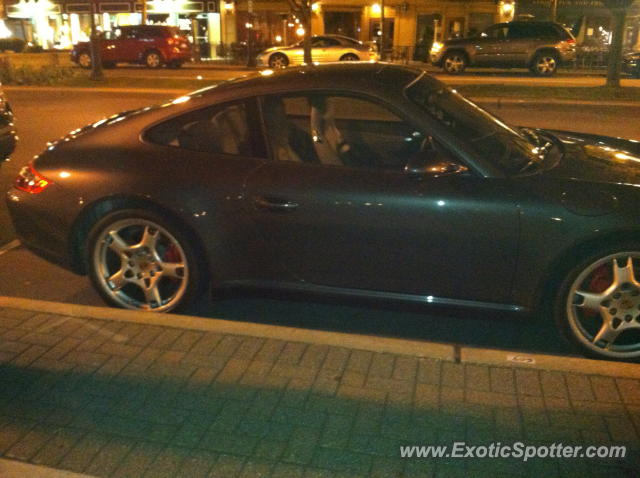 Porsche 911 spotted in Plymouth, Michigan