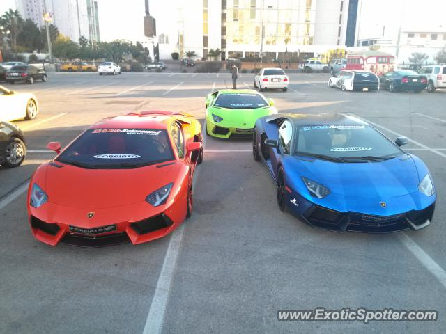 Wonderful Lamborghini Aventador Spotted In Las Vegas, Nevada