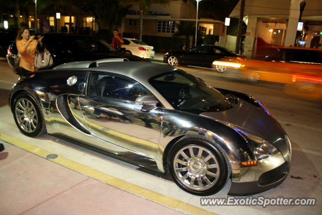 Bugatti Veyron spotted in Miami, Florida