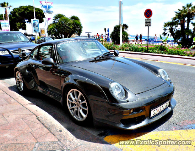 porsche 911 turbo spotted in cannes france on 07 02 2012 photo 2. Black Bedroom Furniture Sets. Home Design Ideas