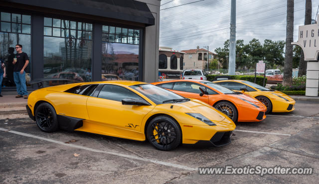 Lamborghini Murcielago spotted in Houston, Texas