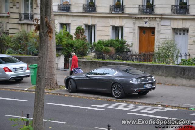 aston martin rapide spotted in paris france on 10 14 2012 photo 2. Black Bedroom Furniture Sets. Home Design Ideas