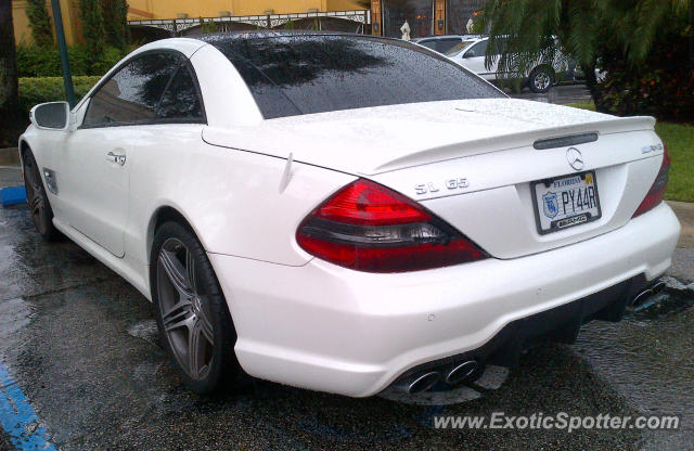 Mercedes sl 65 amg spotted in aventura florida on 09 22 2012 for Mercedes benz aventura