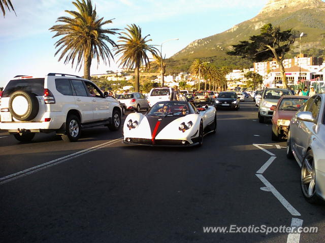 Pagani Zonda spotted in Cape Town, South Africa