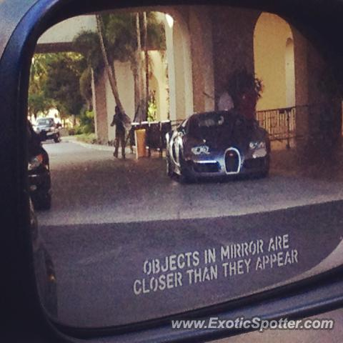 Bugatti Veyron spotted in Hollywood, Florida