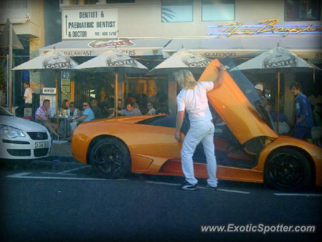 Lamborghini Murcielago Spotted In Cape Town South Africa
