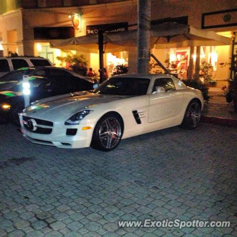 Mercedes sls amg spotted in boca raton florida on 01 04 for Mercedes benz boca raton