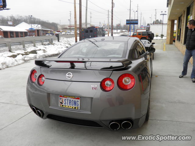 Nissan GT-R spotted in Cincinnati, Ohio