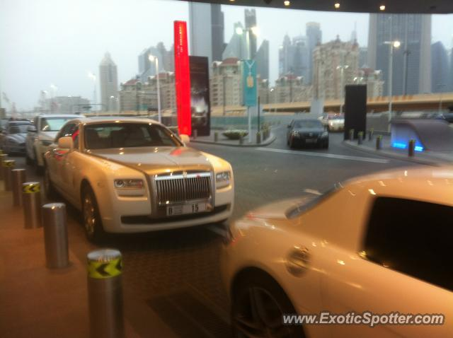 Rolls Royce Ghost spotted in Dubai, United Arab Emirates