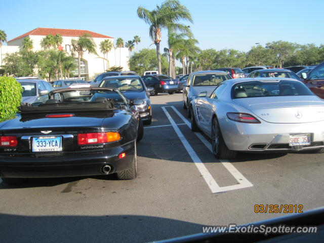 Mercedes SLS AMG spotted in Palm Beach, Florida