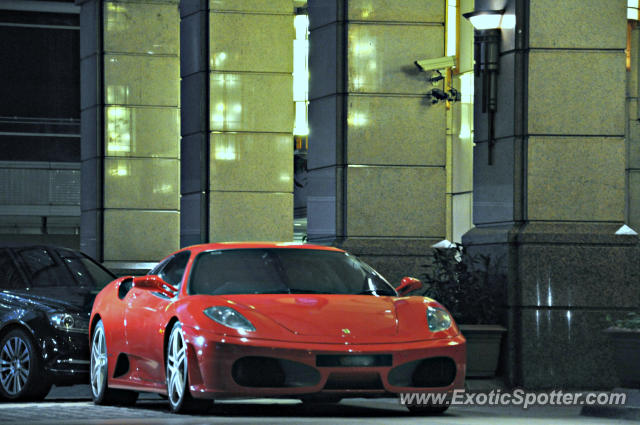 Ferrari F430 spotted in KLCC Twin Tower, Malaysia
