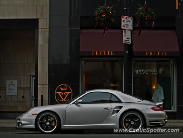 Porsche 911 Turbo spotted in Boston, Massachusetts