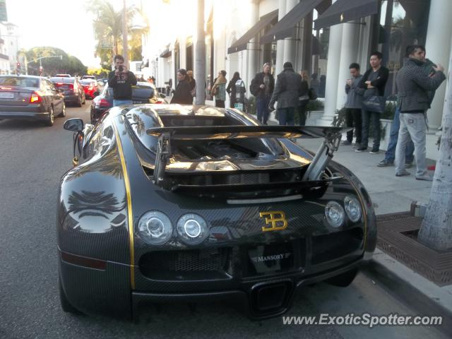 Bugatti Veyron Spotted In Beverly Hills California On 01